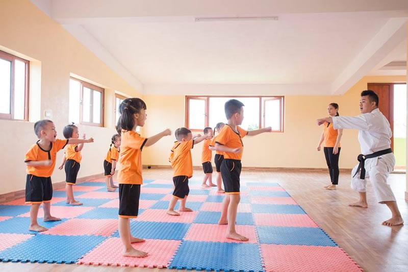 Khai giảng  lớp Karate Do khóa 1 Võ đường Bảo Việt